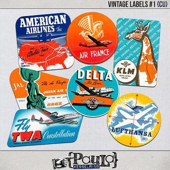 Vintage Labels #1 {CU}