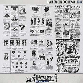 Halloween Goodies #1 {CU}
