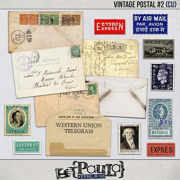 Vintage Postal #2 {CU}