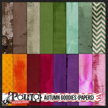 Autumn Goodies {Papers}