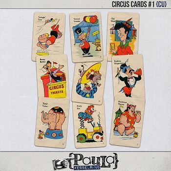 Circus Cards #1 {CU}
