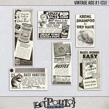 Vintage Ads #1 {CU}