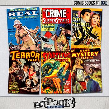 Comic Books #1 {CU}