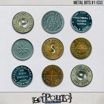 Metal Bits #1 {CU}