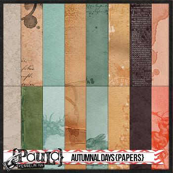 Autumnal Days {Papers}