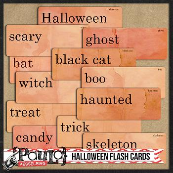 Halloween Flash Cards